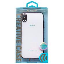 迪沃(DEVIA) 透明全包防摔电镀手机壳 适用于苹果iPhone XS MAX【黑色】6.5英寸