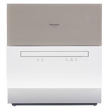 松下 (Panasonic) NP-TH1CECN(金色) 双层独立碗篮 6套容量  80°高温除菌 独立加热烘干 软水系统 四重洗涤模式 台式洗碗机