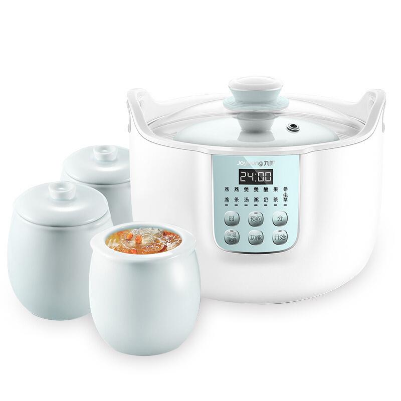 九阳(Joyoung) DGD1808BS 电炖锅 3L 预约电炖盅煮粥煲汤锅隔水炖燕窝盅