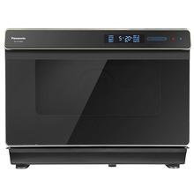 松下(Panasonic) NU-SC300B 家用多功能智能菜单直喷三段蒸汽平面烘烤技术电烤箱蒸烤箱 30L
