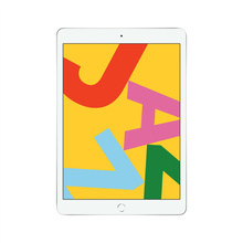 【官方授权】Apple 2019款10.2英寸iPad 128G MW782CH/A 银色 WIFI版 平板电脑