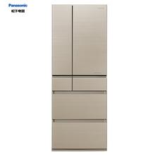 松下(Panasonic) NR-F603HX-N5 595升 日本原装进口六门多门冰箱 全新nanoe技术 WIFI智能控制