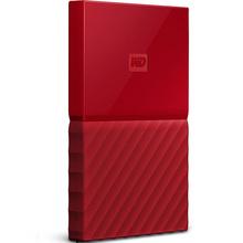 西部数据(WD)My Passport 2TB USB3.0移动硬盘 红色(WDBS4B0020BRD)