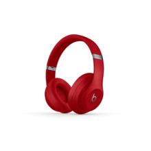 【官方授权】Beats Studio3 Wireless 红色 头戴式 蓝牙无线耳机 降噪耳机 游戏耳机 含麦克风 MQD02PA/A