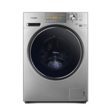 松下(Panasonic)XQG100-EG135 10公斤 变频洗烘一体滚筒洗衣机(银色) 双极除螨 大容量