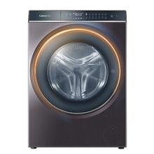 卡萨帝(Casarte)C1 HD10P6LU1 10公斤 烘干一体 全自动滚筒洗衣机直驱 纤见系列 10公斤空气洗 晶钻紫