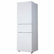 松下(Panasonic)NR-C32WPG-XW 318升三门变频风冷无霜冰箱 玻璃面板自由变温室 珍珠白