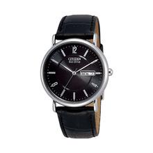 西铁城(CITIZEN)手表 光动能简约黑小牛皮表带商务休闲新利娱乐下载手表BM8240-03E