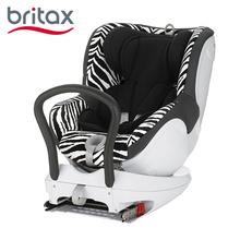 宝得适(Britax)双面骑士360°旋转汽车儿童安全座椅  斑马 约0~4岁isofix接口