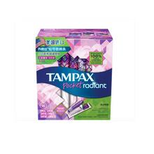 丹碧丝(Tampax) 导管式隐形卫生棉条 卫生巾 幻彩系列 大流量型16支装 美国原装进口