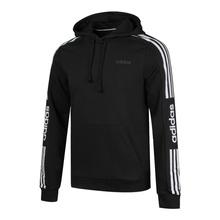 阿迪达斯 Adidas Neo卫衣男装冬季新款运动服针织连帽套头衫 EI4673 L