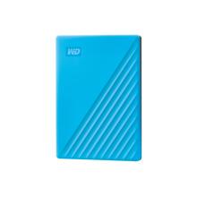西部数据(WD)My Passport 随行版 2TB USB3.0移动硬盘 蓝色(WDBYVG0020BBL)