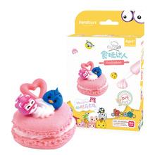 简动文创JANDOON 食玩达人 DIY手工制作创意玩具仿真蛋糕大礼盒甜点柜托盘蛋糕架模型儿童玩具 JD-66984马卡龙(随机发一个)