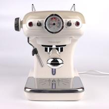 Ariete阿里亚特 意式复古半自动咖啡机-1389 米色
