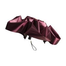 蕉下(BANANA UNDER) 2020款 胶囊系列五折伞防晒晴雨两用 丝影限定高定红