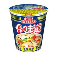日清 合味道 海鲜风味面 84g/杯 方便速食