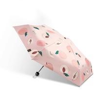 蕉下(BANANA UNDER) 2020款 果趣系列五折伞防晒晴雨两用 初桃