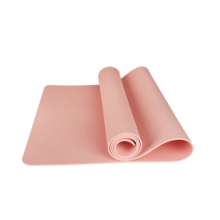 舒华SHUA 防滑瑜珈垫运动毯子仰卧起坐垫瑜伽垫加厚加宽印花健身垫SH-Q3601A玫红色