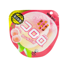 悠哈-酷露露桃子味果汁软糖52g