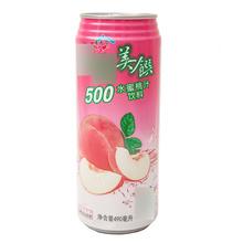 台湾美馔 水蜜桃汁饮料 490ml 中国台湾进口 台湾特产 别有风味