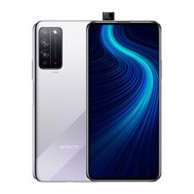 华为 荣耀 HONOR 荣耀X10(5G九频)光速银 6GB+128GB 全网通5G版 双卡双待