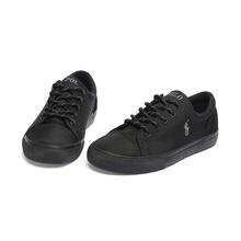 Polo Ralph Lauren童鞋Brayden休闲平板鞋男童跑步运动鞋 黑色 RF101118 32.5