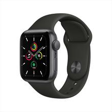 【官方授权】Apple Watch SE 智能手表 GPS款 40毫米深空灰色铝金属表壳 黑色运动型表带MYDP2CH/A