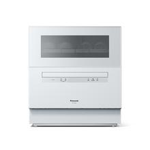 松下(Panasonic) NP-TF6WK1Y 洗碗机家用 台式 6套家用 高温除菌 软水除水垢 独立烘干(纳米除菌)