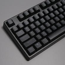 迦斯(GANSS)GS 87D 黑色RGB红轴 机械键盘 游戏键盘 cherry樱桃轴体
